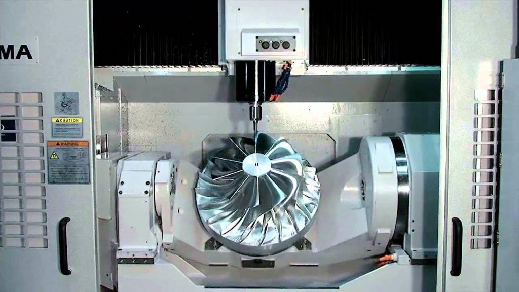 دستگاه cnc فرز 6 محور