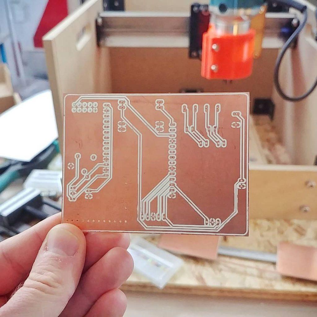 دستگاه ساخت فیبر مدار چاپی