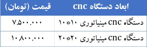 دستگاه cnc مینیاتوری