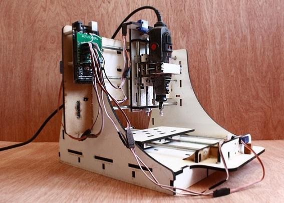 دستگاه cnc کوچک دانشجویی