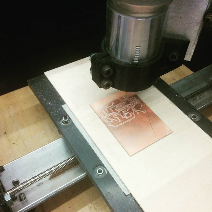 دستگاه cnc فیبر مدار چاپی
