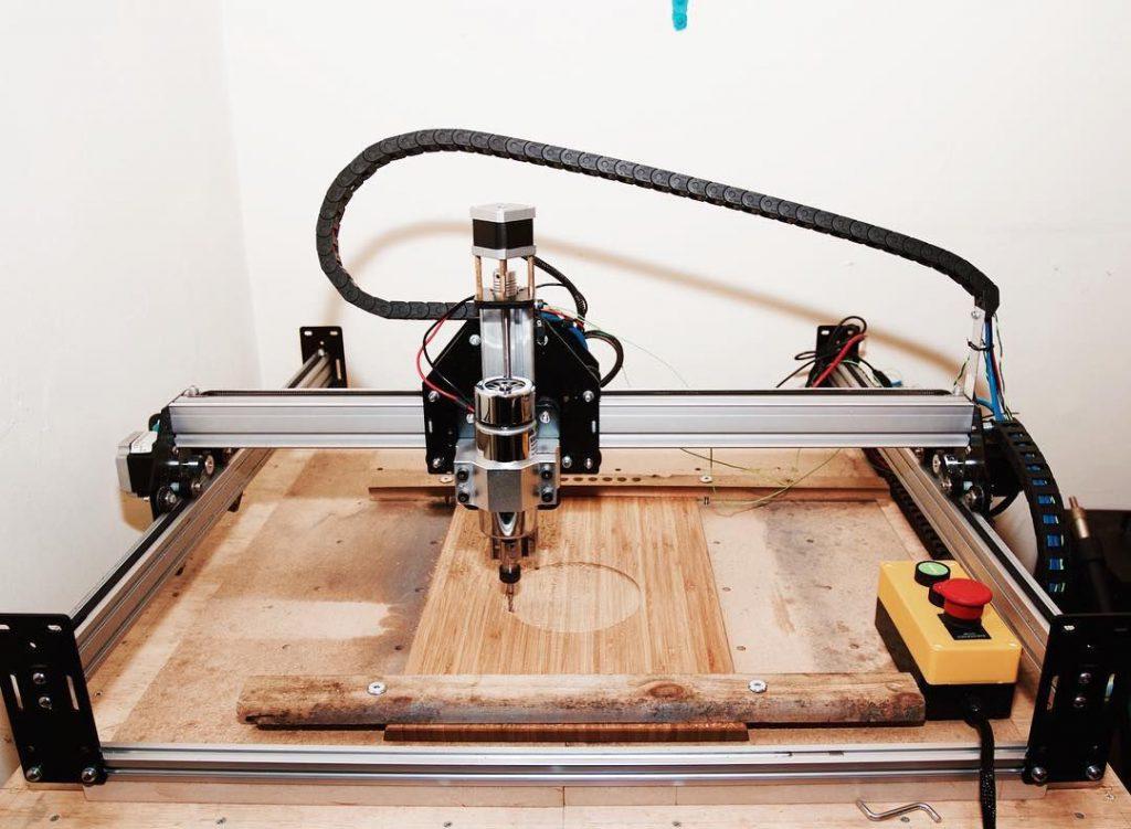 دستگاه cnc رومیزی تراش چوب